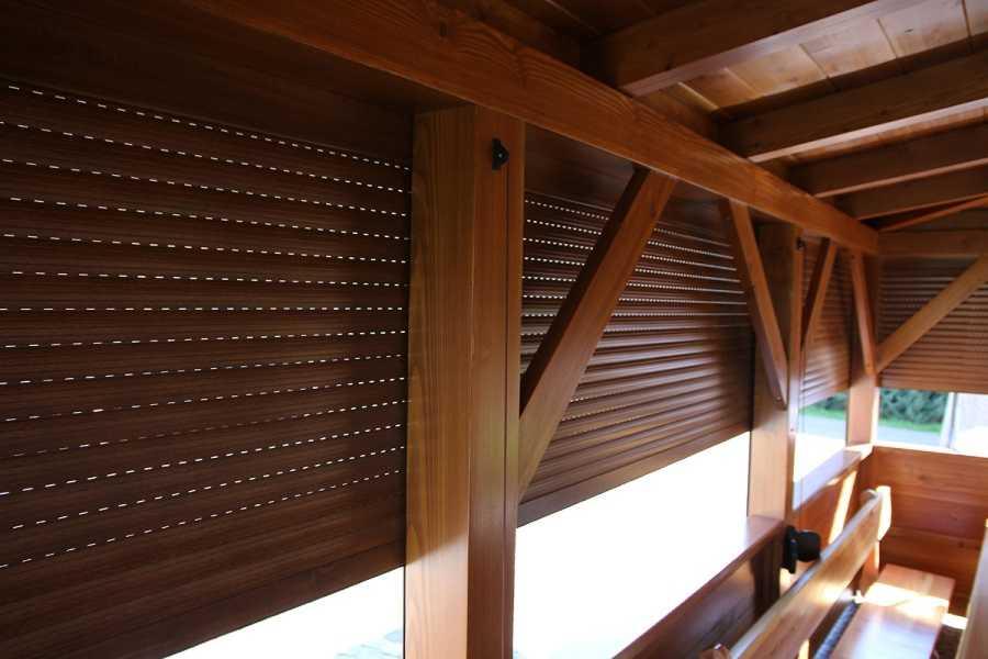 Bardzo dobry Rolety zewnętrzne zabudowa balkonu, tarasu, altany - Porady - www MF65