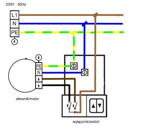 Napędy Do Rolet Napędy Simu Podnoszenie Elektryczne Rolet Silniki